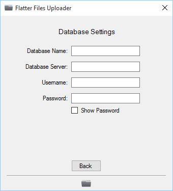 PDM Standard Database Settings